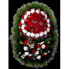 Венок из живых цветов ВЖ-31