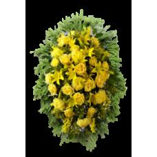 Венок из живых цветов ВЖ-57