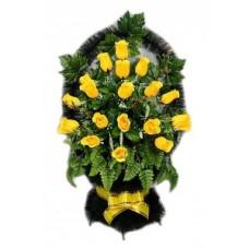 Корзина из искусственных цветов КЗ-48