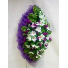 Венок из искусственных цветов ВА-06