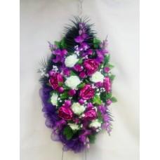 Венок из искусственных цветов ВА-09