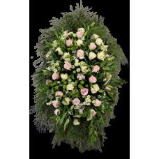 Венок из живых цветов ВЖ-13