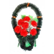 Корзина из искусственных цветов КЗ-24
