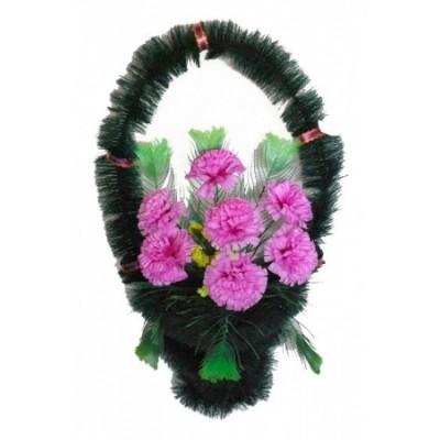 Корзина  элитная из искусственных цветов КЭИ-04