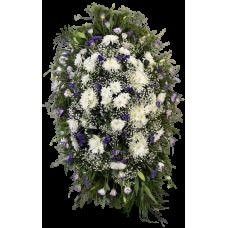 Венок из живых цветов ВЖ-35