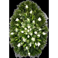 Венок из живых цветов ВЖ-47