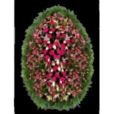 Венок из живых цветов ВЖ-49