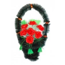 Корзина из искусственных цветов КЗ-26