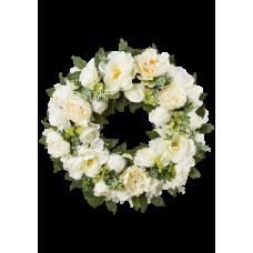 Венок европейский из живых цветов ВЕЖ-61