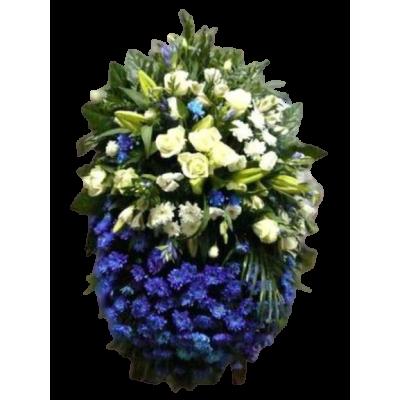 Венок из живых цветов ВЖ-70
