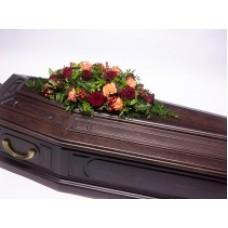 Кремационная композиция из живых цветов КР-003