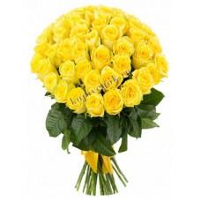 Цветы Розы Желтые