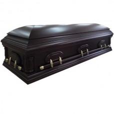 """Гроб деревянный двухкрышечник """"Испанец"""""""