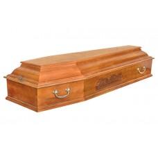Гроб деревянный Тайная вечеря Светлый и Темный