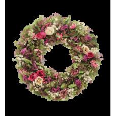Венок европейский из живых цветов ВЕЖ-54