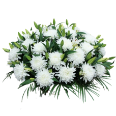 Корзина из живых цветов КЖ-46