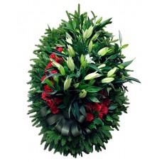 Венок из живых цветов ВЖ-97