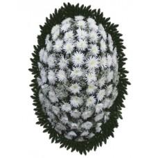 Венок из живых цветов ВЖ-93