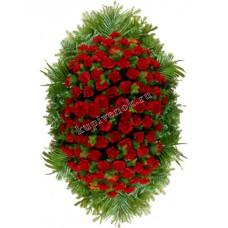 Венок из живых цветов ВЖ-94