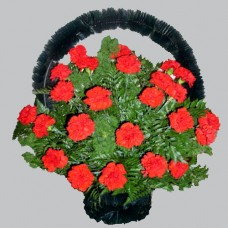 Корзина из живых цветов КЖ-23