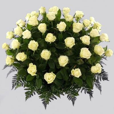 Корзина из живых цветов КЖ-34