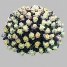 Корзина из живых цветов КЖ-36