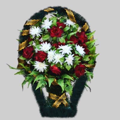 Корзина элитная из искусственных цветов КЭИ-19