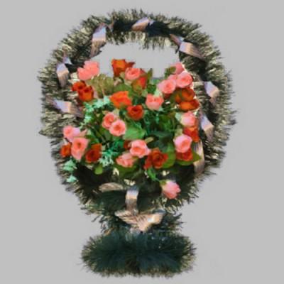 Доставка корзин из искусственных цветов в Москве
