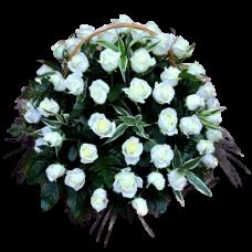 Корзина из живых цветов КЖ-33