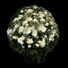 Корзина из живых цветов КЖ-44