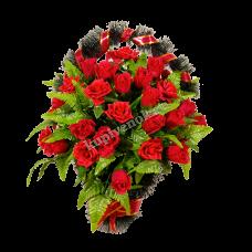 Корзина из искусственных цветов КЗ-16