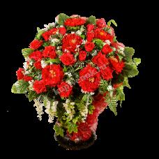 Корзина из искусственных цветов КЗ-18