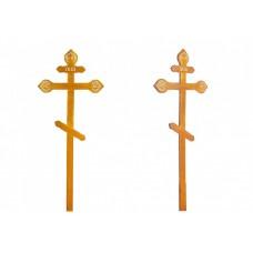 Крест на могилу Фигурный Светлый и Темный