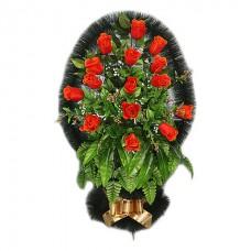 Корзина из искусственных цветов заказная КЗ-60