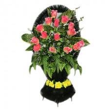 Корзина из искусственных цветов КЗ-56