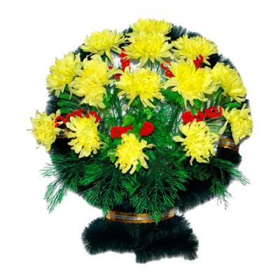 Корзина из искусственных цветов КЗ-41