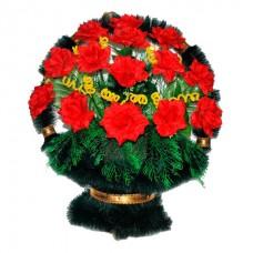 Корзина из искусственных цветов КЗ-46