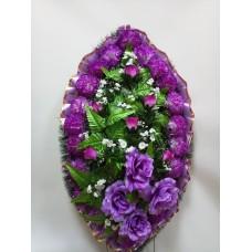 Венок из искусственных цветов ВС-10