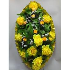 Венок из искусственных цветов ВС-20