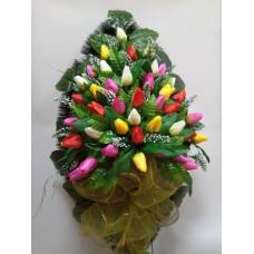 Венок из искусственных цветов ВА-25 90 см