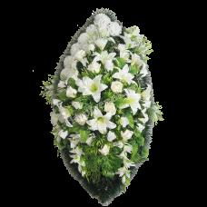 Венок из искусственных цветов ВЭ-36
