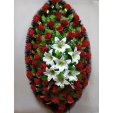 Венок из искусственных цветов ВЭ-40