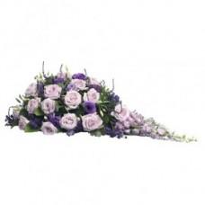 Кремационная композиция из живых цветов КР-014