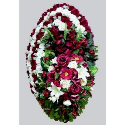 Венок из искусственных цветов ВЭ-07