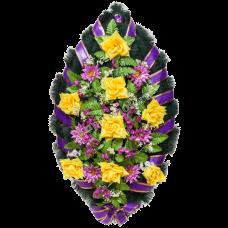 Венок из искусственных цветов ВС-19