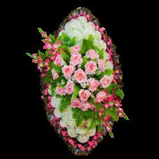 Венок из искусственных цветов ВЭ-20