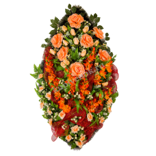 Венок из искусственных цветов ВА-01