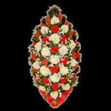 Венок из искусственных цветов ВС-02