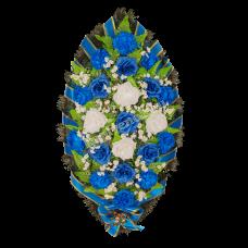 Венок из искусственных цветов ВС-11