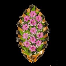 Венок из искусственных цветов ВС-21